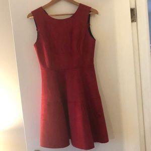 Akira Chicago Suede Dress
